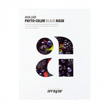 Очищающая маска Phyto-Color Purple Mask 1 шт / Avajar0